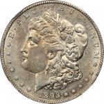 1893-S Morgan Silver Dollar. AU-55 (NGC).