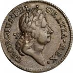 1722 Rosa Americana Penny. Martin 2.12-D.3, W-1268. Rarity-6. UTILE DULCI. EF-45 (PCGS).