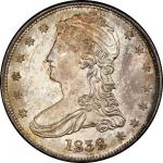1838 Capped Bust Half Dollar. Graham Reiver-1. Rarity-3. HALF DOL. Mint State-66 (PCGS).