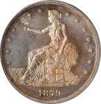 1879 Trade Dollar. Proof-65 (PCGS). CAC.