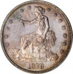 1878 Trade Dollar. Proof-65 (PCGS). CAC.