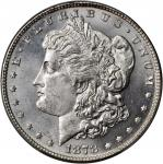 1878 Morgan Silver Dollar. 7/8 Tailfeathers. Strong. MS-65 (PCGS).