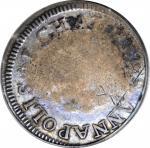 1783 John Chalmers Shilling. W-1790. Rarity-4. Birds, Long Worm. VG-10 (PCGS).
