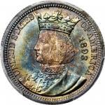 1893 Isabella Quarter. MS-68+ (PCGS). CAC.