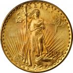 1924 Saint-Gaudens Double Eagle. MS-67 (PCGS).