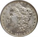 1904-O Morgan Silver Dollar. MS-65 (PCGS). OGH.