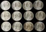 BU Roll of 1898-O Morgan Silver Dollars.