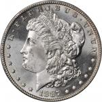1887 Morgan Silver Dollar. MS-65 (PCGS).
