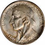 1936-D Boone Bicentennial. Unc Details--Cleaned (PCGS).