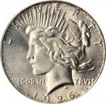 1926 Peace Silver Dollar. MS-66 (PCGS). CAC.
