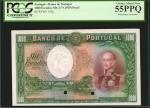 PORTUGAL. Banco de Portugal. 1000 Escudos, ND. P-145p. Proof. PCGS Currency Choice About New 55 PPQ.