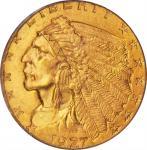 1927 Indian Quarter Eagle. MS-63 (PCGS). CAC. OGH.