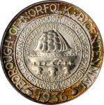1936 Norfolk, Virginia Bicentennial. MS-68 (PCGS). CAC. OGH.