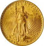 1914 Saint-Gaudens Double Eagle. MS-64 (NGC).