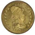 1800 Capped Bust Right Eagle. Bass Dannreuther-1. Rarity-3+. Mint State-63+ (PCGS).