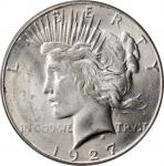1927-S Peace Silver Dollar. MS-63 (PCGS). CAC. OGH.