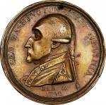 1790 Manly medal. Original dies. Musante GW-10, Baker-61B. Brass. AU-53 (PCGS).