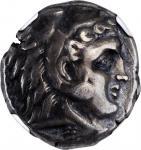 SICILY. Siculo-Punic. Entella. AR Tetradrachm (17.23 gms), ca. 300-289 B.C. NGC VF, Strike: 5/5 Surf