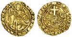 Edward IV 2匤d reign (1471-85), Half-Angel, class XIV, 2.52g, mm. annulet, edward?di gra?rex angl? do
