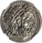 MACEDON. Kingdom of Macedon. Philip II, 359-336 B.C. AR Tetradrachm (14.35 gms), Posthumous Issue of