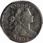 1803 Draped Bust Cent. S-250. Rarity-3. Small Date, Small Fraction. Fine Details--Environmental Dama