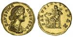 Faustina Junior, wife of Marcus Aurelius (AD 161-75), AV Aureus, 7.22g, Rome, draped bust right, her