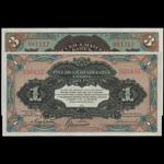 CHINA--FOREIGN BANKS. Russo-Asiatic Bank. 1 & 3 Rubles, ND (1917). P-S474a & S475a.