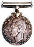 1939-45年英国奖章一组3枚,AU至UNC