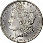 1890-CC Morgan Silver Dollar. MS-65 (PCGS). CAC.