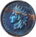 1872 Indian Cent. Proof-65 BN (PCGS).