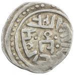 GOLDEN HORDE: Mangu Timur, 1267-1280, AR dirham (1.51g), NM, ND, A-2020var, Mangu Timurs tamgha in c