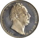 GREAT BRITAIN. Crown, 1831. PCGS Genuine--Altered Surfaces, Proof. Unc Details Secure Holder.