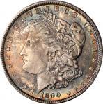 1890 Morgan Silver Dollar. MS-65+ (PCGS). CAC.