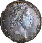 GREAT BRITAIN. Crown, 1820 Year LX. London Mint. George III. NGC MS-63.