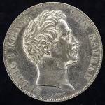 GERMANY Bavaria バイエルン 2Gulden 1847 返品不可 要下見 Sold as is No returns Cleaned 洗浄 EF