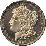 1888 Morgan Silver Dollar. Proof-62 Cameo (PCGS).