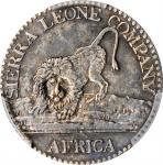 SIERRA LEONE. 10 Cents, 1796. Soho (Birmingham) Mint. PCGS AU-50 Gold Shield.