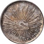 MEXICO. 8 Reales, 1897-Mo AM. Mexico City Mint. PCGS MS-64 Gold Shield.