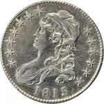 1815/2 Capped Bust Half Dollar. O-101a. Rarity-3. EF Details--Cleaning (PCGS).