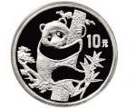 1987年中国人民银行发行熊猫银币