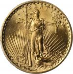 1915 Saint-Gaudens Double Eagle. MS-64+ (PCGS).