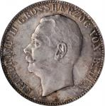 GERMANY. Baden. 5 Mark, 1913-G. Stuttgart Mint. PCGS MS-65 Gold Shield.