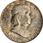 1949-D Franklin Half Dollar. MS-65 FBL (PCGS).