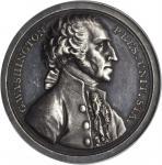 1797 (ca. 1859) Sansom Medal. First Reissue. Silver. 41 mm. Musante GW-59, Baker-72, Julian PR-1. MS