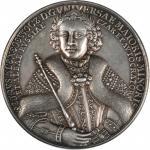 1697年彼得首次欧洲寻访银章 PCGS SP 53