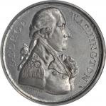 1789 (Circa 1790) Washington Twigg Medal. White Metal. 35.7 mm. Baker-65. MS-64 (NGC).