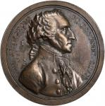 1797 (ca. 1805) Sansom Medal. Original. Bronze. 40.64 mm. By John Reich, for Joseph Sansom. Musante