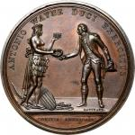 1779 Anthony Wayne at Stony Point medal. Betts-565. Copper. Original dies. Paris Mint. 53.9 mm, 961.