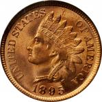 1895 Indian Cent. MS-64 RD (NGC). CAC. OH.