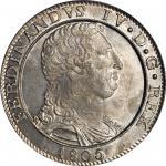 ITALY. Naples & Sicily. 120 Grana, 1805-LD. Ferdinando IV di Borbone (1799-1805). PCGS MS-64.